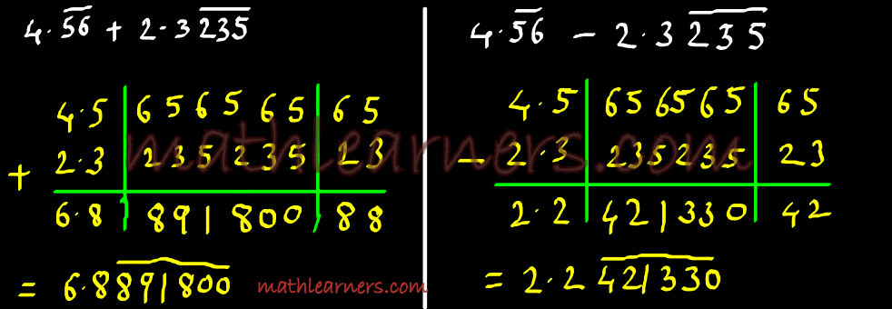 RecurringNumbers9Addition_Subtraction1