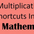 Multiplication shorcuts in Vedic Mathematics